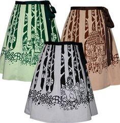 Grimm Fairytale skirts