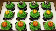 Sports Balls Birthday Cucpakes by cjmjcrlm (Rebecca), via Flickr