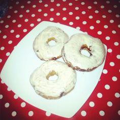 Donuts caseros de nocilla y choco blanco