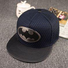 2015 Fashion Summer Brand Batman Baseball Cap Hat For Men Women Casual Bone Hip  Hop Snapback Caps Hats Free Shipping 572571bbee0