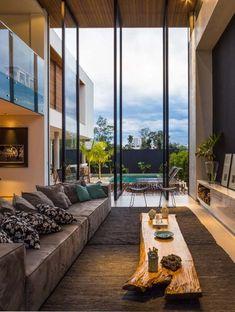 Jaw-Dropping Ideas: Minimalist Decor White Chairs minimalist home plans bathroom.Minimalist Bedroom Boho Floors simple minimalist home design. Dream Home Design, Modern House Design, Modern Interior Design, Loft Design, Modern Interiors, Contemporary Interior, Design Design, Luxury Homes Interior, Luxury Home Decor