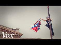 Watch Bree Newsome climb a 30-foot flagpole to take down South Carolina's Confederate flag - Vox
