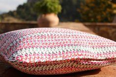 SLOWERS, organic cotton cushions, mosaic print