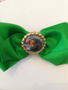 Link from Zelda hair bow by nerdygirlraven on Etsy, $7.00