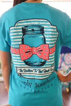 Simply Southern Tee Mason Jar $18  www.shopwhimsy.com