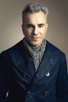 The Shoemaker's Apprentice 2. Daniel Day-Lewis in the workwear, roll lapel, denim pea coat.