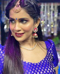 Saree Wedding, Crown, Indian, Drop Earrings, Desi, Bb, Beauty, Jewelry, Fashion