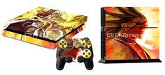 EBTY-Dreams Inc. - Sony Playstation 4 (PS4) - Bleach Anime Zaraki Kenpachi Bankai Vinyl Skin Sticker Decal Protector