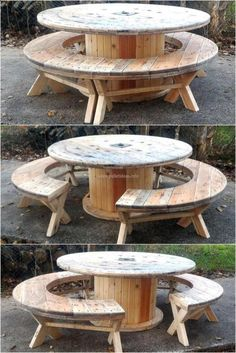 40 Unusual Patio Furniture With Wood Pallet Ideas #PalletIdeashttp://weekendhobbies.co/use-pallet-wood-projects-to-create-unique-home-decor-items/