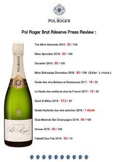 Wijn,wijn en nog eens wijn: Pol Roger Champagne scores big