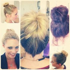 WEAR IT TO WORK WEDNESDAY! It's hard to believe but we've reached the halfway point of the week again! Today, we're all channelling our inner ballerina with a soft messy bun. Follow our step-by-step guide to create the look yourself and don't forget to send us a photo! READY, SET, STYLE! http://www.charlesworthington.com/hair-care-styling-tips/jessica-brown-findlay