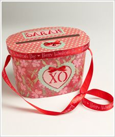 """ice cream container repurposed into Valentine's card holder """"purse"""".  So, my days of needing this kind of """"purse"""" are long gone, but I love the """"trash to treasure"""" concept of using an empty ice cream container."""
