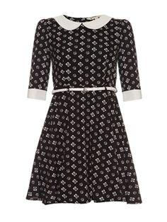 Φόρεμα μαύρο-λευκό fbf1daa7b4f