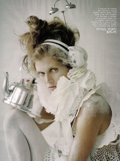 Make Do And Mend  Photographer:  Tim Walker.  Source: Editorial from Vogue British Magazine,