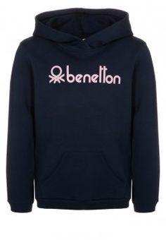 Benetton - Hoodie - blue