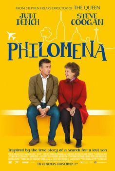 Philomena 8/10 - quite lovely, but with a good chunk of Coogan's acerbic tongue too.