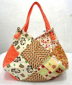 Bolsa em patchwork | Namari Artes | Elo7
