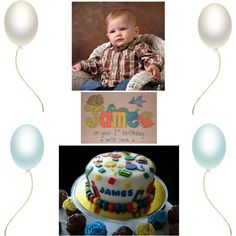 An art collage from November 2012 Happy 1st Birthdays, November, Collage, Sweet, Polyvore, Baby, Life, November Born, Candy