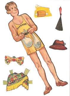 Miss Missy Paper Dolls: Blondie 1941