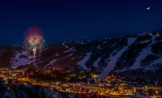 Vail NYE fireworks, Vail New Years Eve Fireworks
