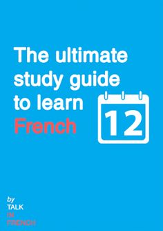 FREE STUDY GUIDE TO LEARN FRENCH A step by step guide to help you learn French the right way. Go the this page and get instant access to this guide.