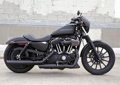 Must be mine at some point... Harley Nightster, matte black: Dream Bike, Harley Sportster 883, Harley Davidson Sportster 883, Cars Motorcycles, Harley Davidson Motorcycles, Harley Davidson 883 Iron, Harley Davidson Iron 883