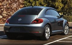 VW beetle 2013 - want one of these!