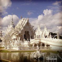 Wat Rong Khun – Chiang Rai, #Tailandia