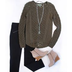 Sweaters at work? Yes please. I'd love to have this outfit !! We'd love to see how it looks on you ! @ your hammond Maurices ! Pin to your holiday wish list if you'd love to have this look @ #wishpinwinsweepstakes #discovermaurices