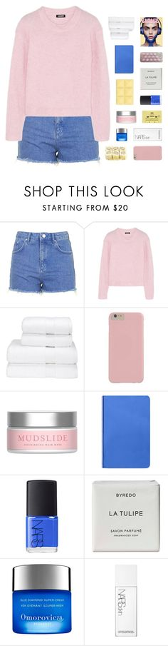 """- you don't want my heart, maybe you just hate the thought of me with someone new"" by p-ureness ❤ liked on Polyvore featuring Topshop, DKNY, Christy, Drybar, Nuuna, NARS Cosmetics, Byredo, Omorovicza and CASSETTE"