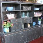 Primitive cupboard that we call black beauty!