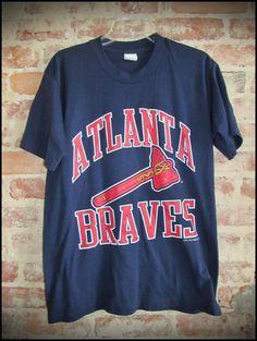 Vintage 90's MLB Atlanta Braves Tomahawk by RackRaidersVintage, $16.00