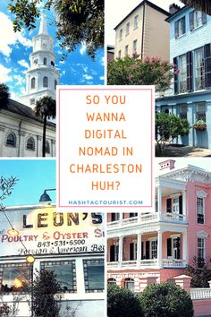 Want to #DigitalNomad in Charleston? Here's what you need to know before you make your decision. #Charleston #RemoteNomad #Travel #SouthCarolina #Digital