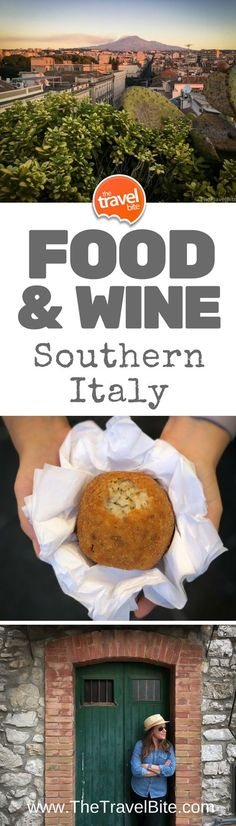 Food & Wine Tour Of Sicily and Southern Italy #Travel #Italy #Sicily #Wine