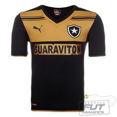 Camisa Puma Botafogo II 2014 - Fut Fanatics - Compre Camisas de Futebol  Originais Dos Melhores Times do Brasil e Europa - Futfanatics 2e1f3aa28295b