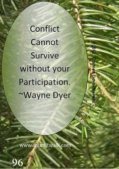 """CONFLICTS ARE PART OF THE JOURNEY OF LIFE. As I have entrusted my life to God's way; in a conflict, I will make my point and then leave everything in God's hands: """"No one can serve two masters, for either he will hate the one and love the other, or... be devoted to the one and despise the other."""" Matthew 6:24."""