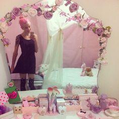 Living Space Inspiration Princess Room Decor Pastel Goth Room Kawaii Room