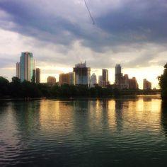 """Here comes the rain again in #Austin #Texas"" Photo taken by @blueskytraveler on Instagram, pinned via the InstaPin iOS App! http://www.instapinapp.com (06/28/2015)"