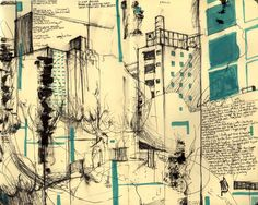 journal sketches are the best. makes me wanna doodle my life away. (moleskin new york city drawing) #art