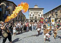 La ville d'#Olite et ses fêtes #médiévales. Toutes les infos