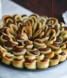 Bite Size Desserts, Dessert Chocolate, International Recipes, Coffee Time, Biscotti, Christmas Cookies, Food Videos, Cheesecake, Food Porn