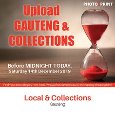 Today is the final upload date for Gauteng and collections. #deadline #uploads #local #collections #christmas #xmas #christmastime #holiday #gifts