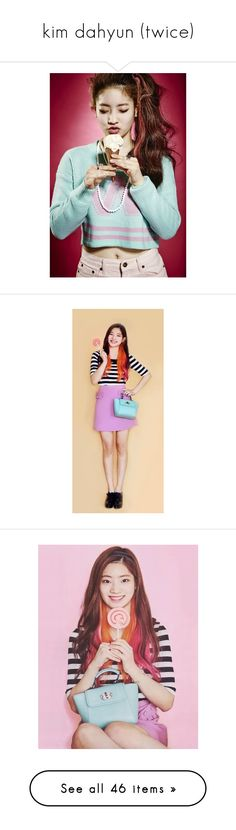 """""""kim dahyun (twice)"""" by cookies-n-creme ❤ liked on Polyvore featuring accessories, eyewear, sunglasses and gaia"""