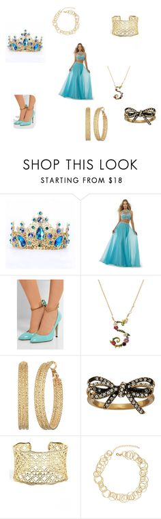 """Prom"" by sanaajade on Polyvore featuring beauty, Morrell Maxie, Gucci, Les Néréides, GUESS, Marc Jacobs, Kendra Scott and Jardin"