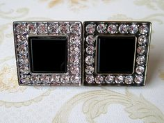 Glass Crystal Drawer Knob Pulls Cabinet Door Handles Dresser Pulls Knobs Kitchen Knob Handle Hardware Silver Bronze Black Square Rhinestone