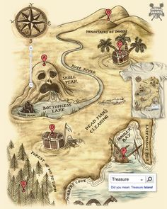 Treasure map                                                       …
