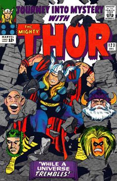 Journey Into Mystery #123, Thor