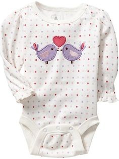 Old Navy | Graphic Ruffle-Sleeve Bodysuits for Baby