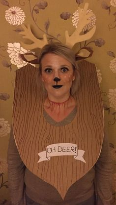 Diy taxidermy trophy costume pinterest taxidermy carnival and deer costume halloween costume taxidermy more information more information diy solutioingenieria Image collections