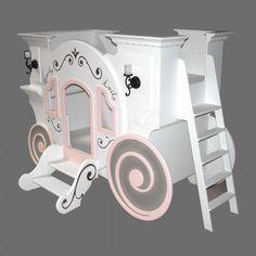 princess bed | Home Cinderella Princess Carriage Bunk Bed